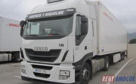 Alquiler con opcion a compra tractora Iveco Stralis 480cv Intarder Ref 8537