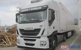 Alquiler de cabeza tractora Iveco Stralis 480cv del año 2016 con intarder Ref 8610