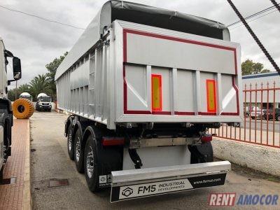Bañera FM5 Aridos-Asfalto SBC-27 Aluminio nueva